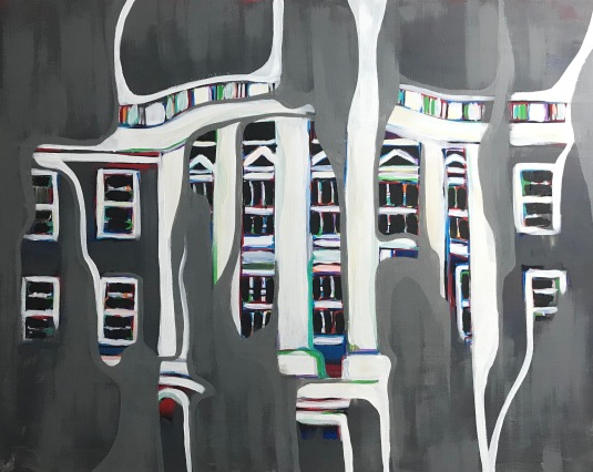 """White House 24"""" x 30"""" SOLD"""