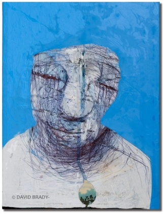 "Blue Dreams 10"" x 13"" | $750"